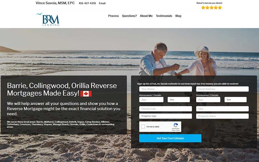 Barrie-Collingwood-Orillia Reverse Mortgages