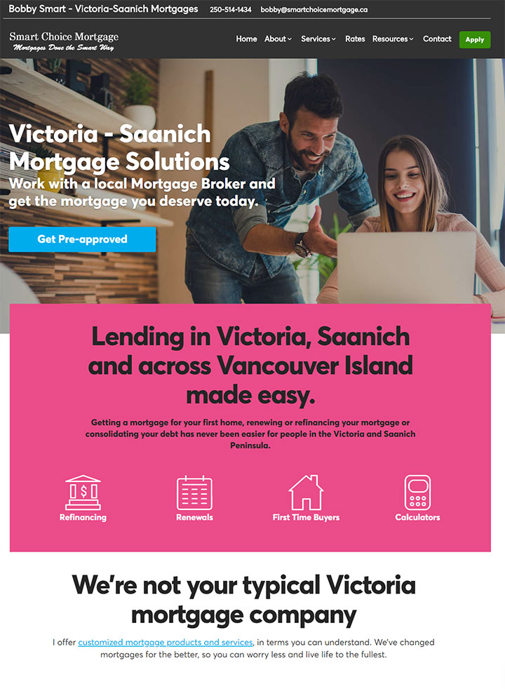 Bobby Smart - Victoria Mortgages