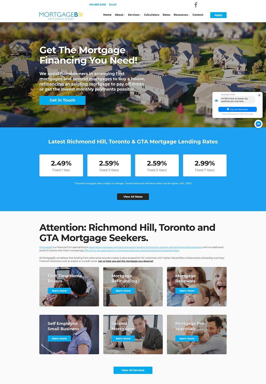 Mortgageb - Toronto Mortgages