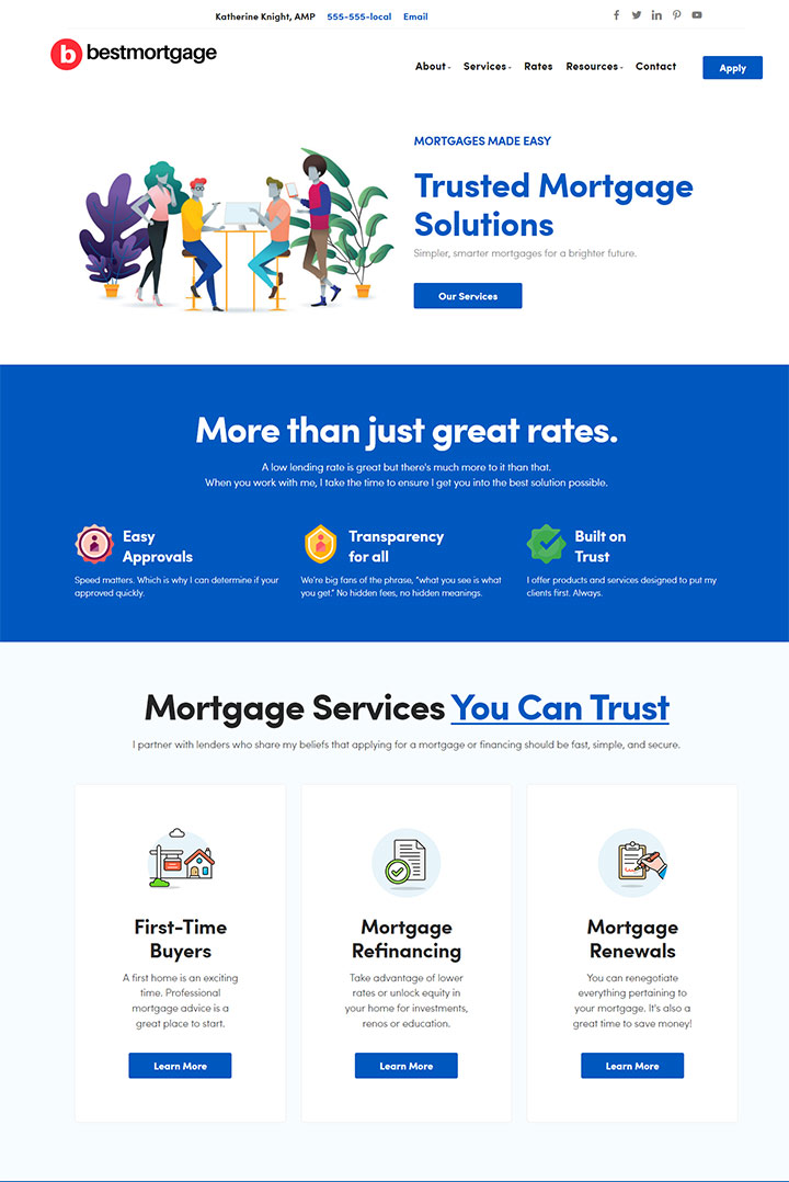 Mortgage Template 1087
