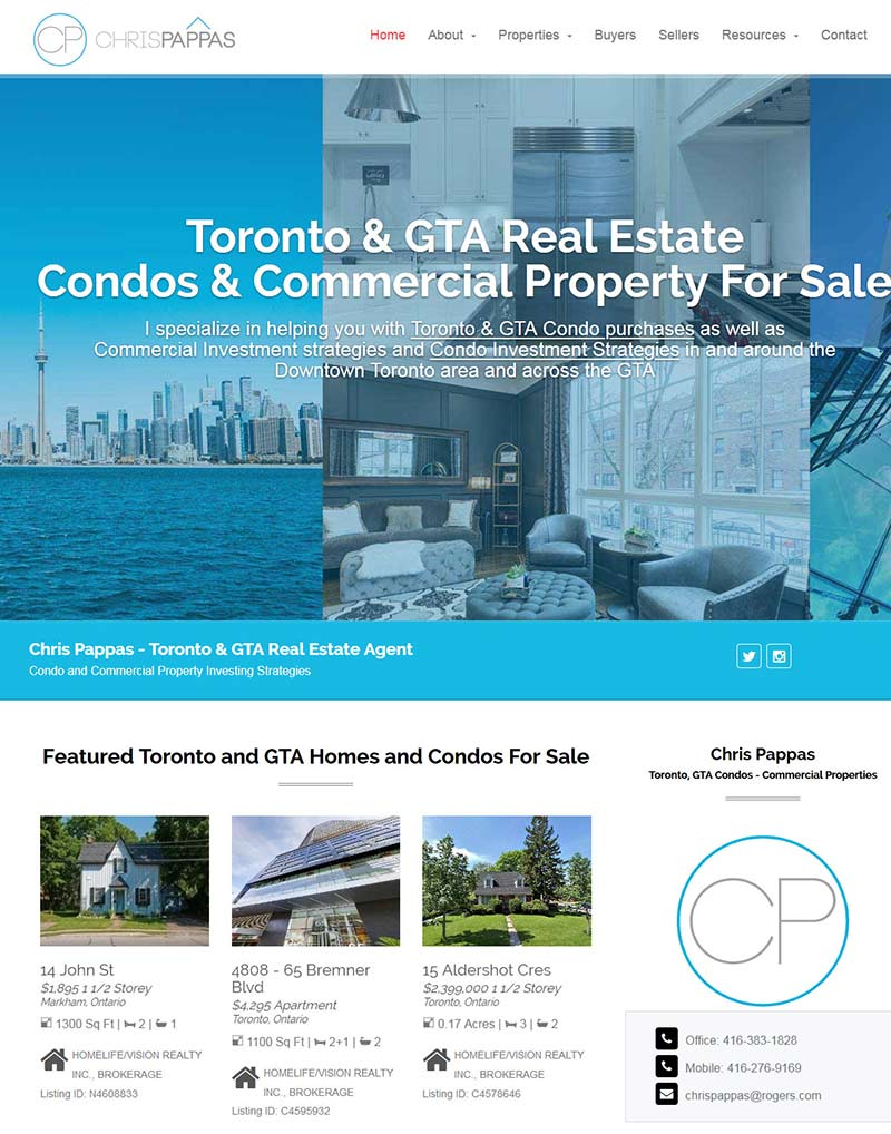 Chris Pappas - Toronto GTA Real Estate Agent