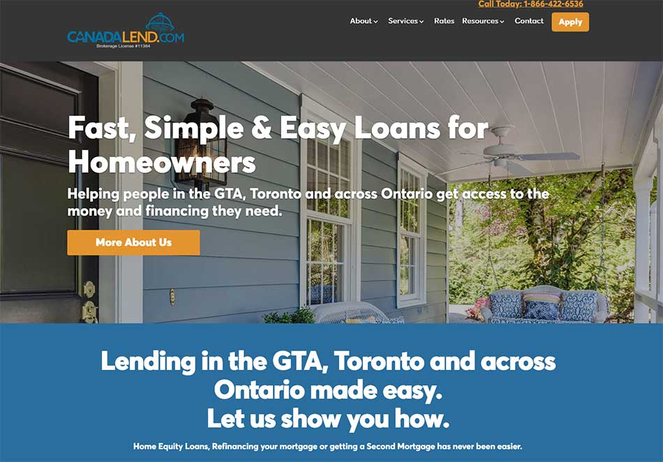 Toronto and GTA Second Mortgages