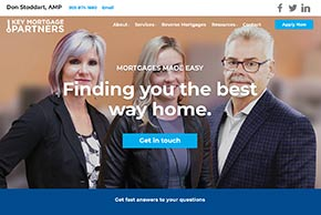 Customized Mortgage Website Designs