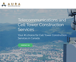 Aura Services - Telecommunications and Cell Tower Construction Services
