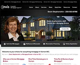 Vernon B.C. Mortgage Broker Dawn Stephanishin