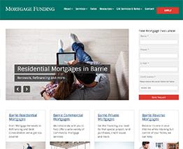 Mortgage Funding - Barrie Reverse Mortgages, Commercial Mortgages