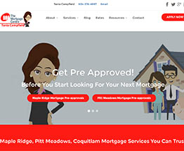 Tania Campfield - Maple Ridge and Pitt Meadows Mortgage Broker specializing in mortgage pre-approvals, mortgage renewals, debt consolidation and mortgages for first time homebuyers