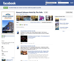 Howard Johnson Hotel Facebook Page