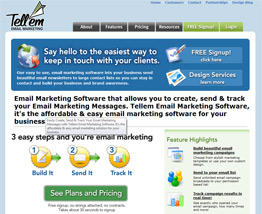 Tellem Email Marketing Software